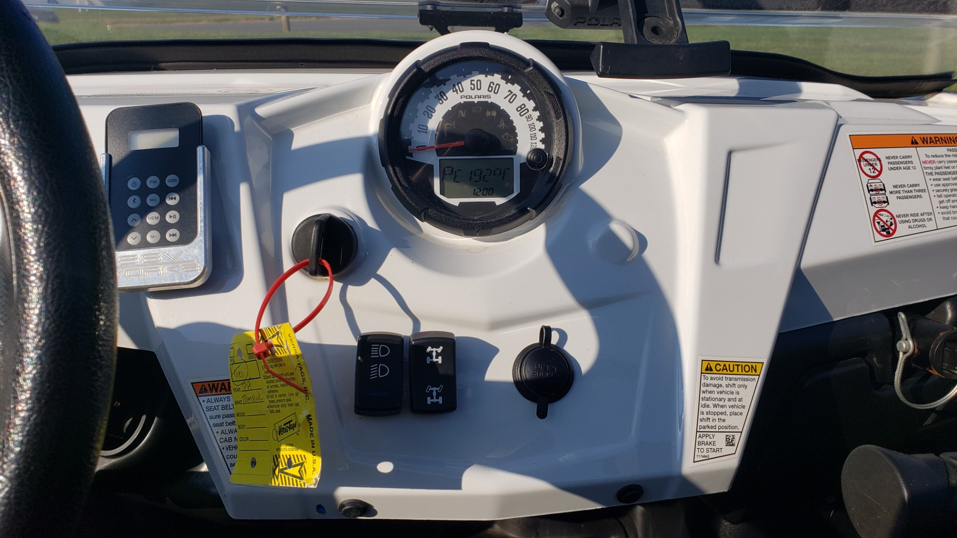 Used 2012 POLARIS RANGER RZR4 / HO 800 EFI / IPHONE CONNECT / SPEAKERS / NEW TIRES for sale Sold at Formula Imports in Charlotte NC 28227 25