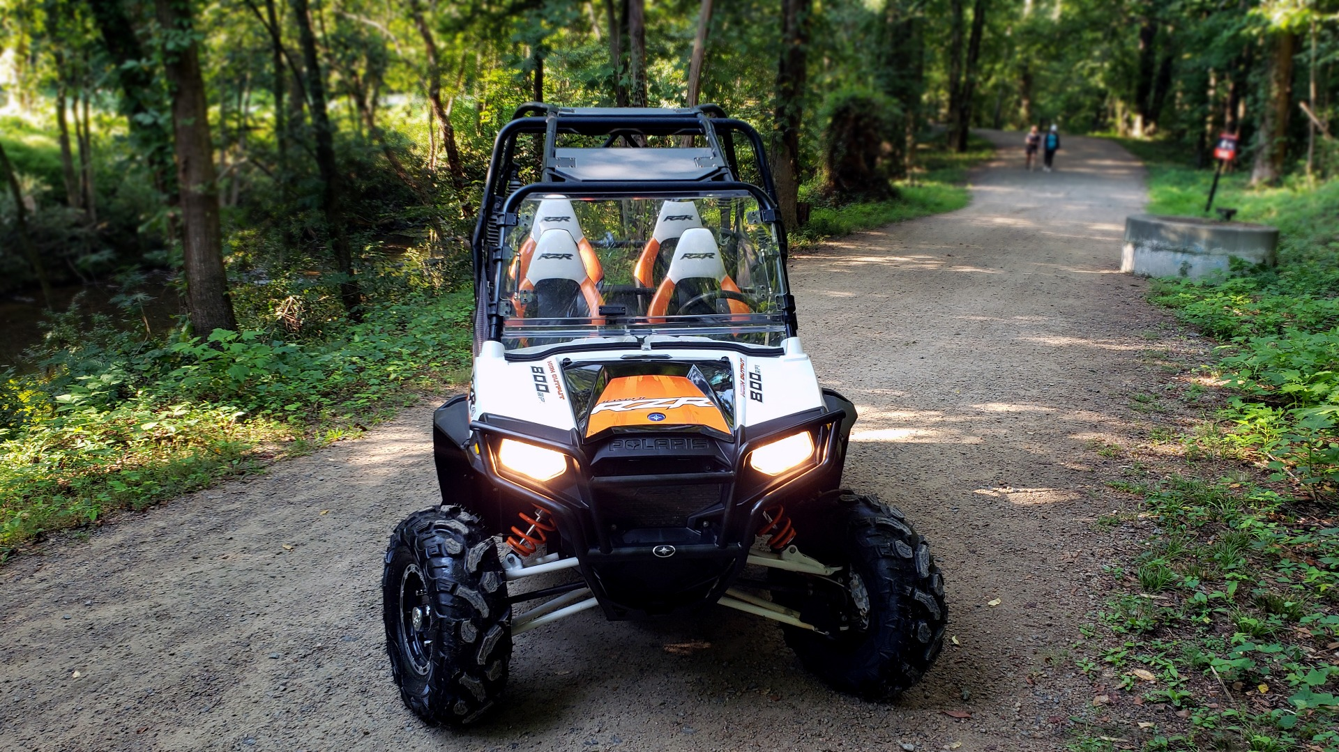 Used 2012 POLARIS RANGER RZR4 / HO 800 EFI / IPHONE CONNECT / SPEAKERS / NEW TIRES for sale Sold at Formula Imports in Charlotte NC 28227 3