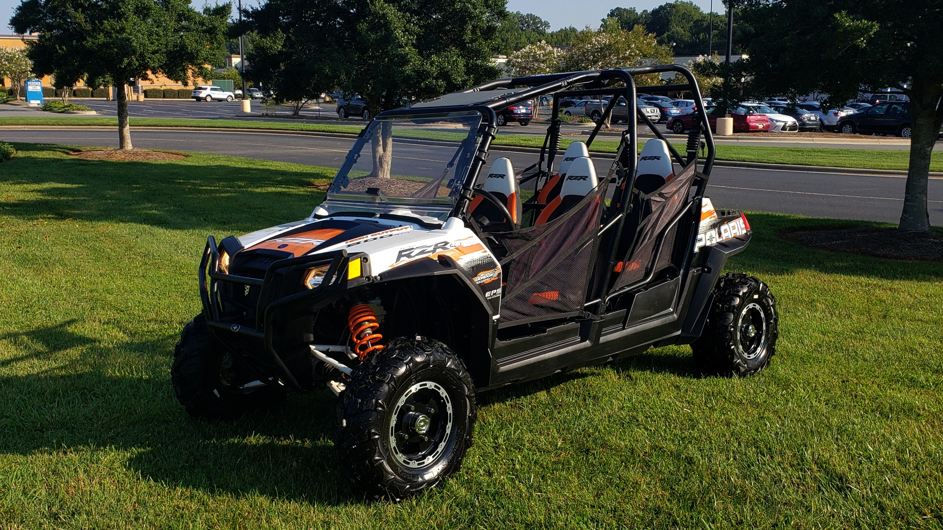 Used 2012 POLARIS RANGER RZR4 / HO 800 EFI / IPHONE CONNECT / SPEAKERS / NEW TIRES for sale Sold at Formula Imports in Charlotte NC 28227 4