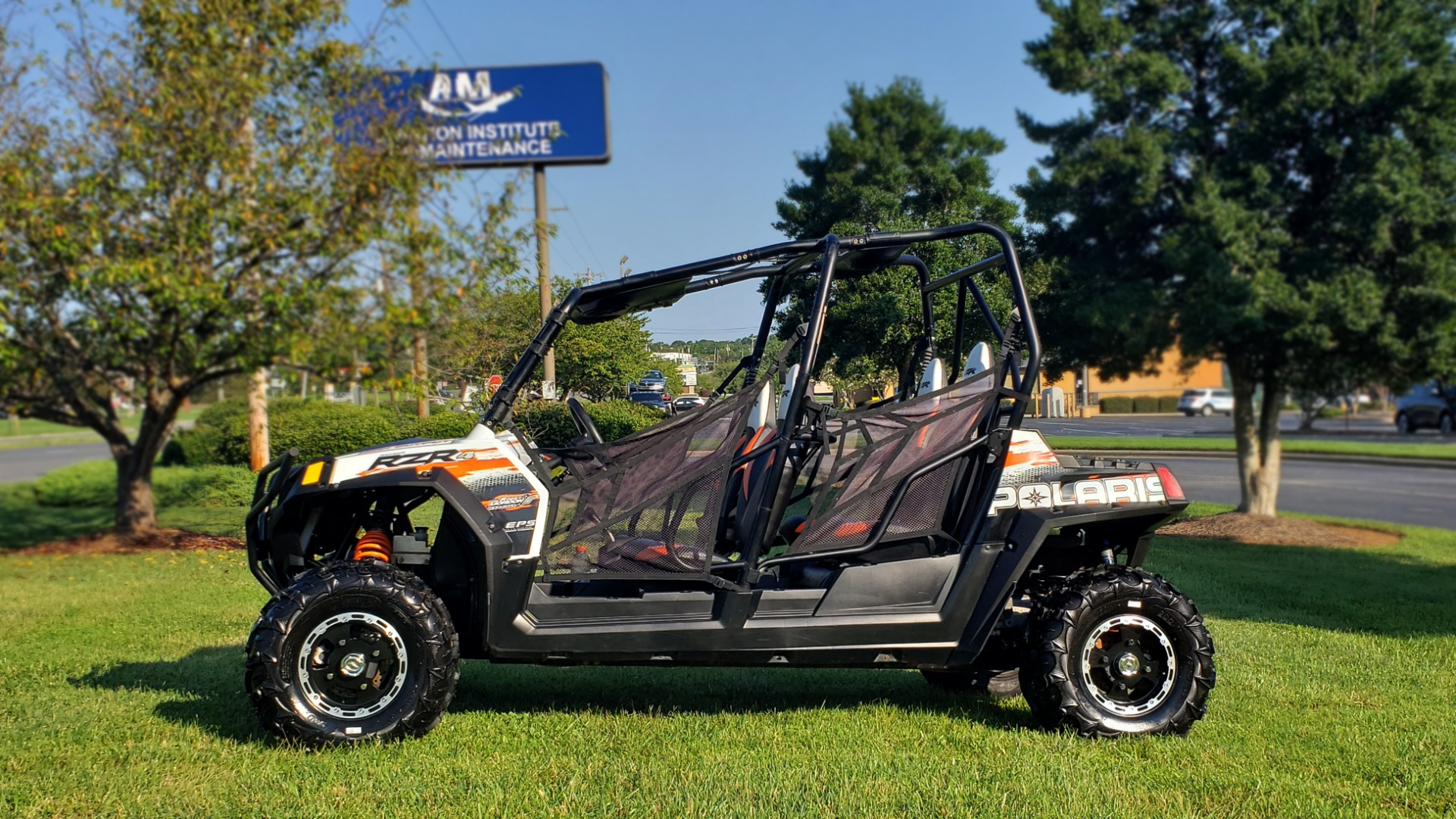Used 2012 POLARIS RANGER RZR4 / HO 800 EFI / IPHONE CONNECT / SPEAKERS / NEW TIRES for sale Sold at Formula Imports in Charlotte NC 28227 5
