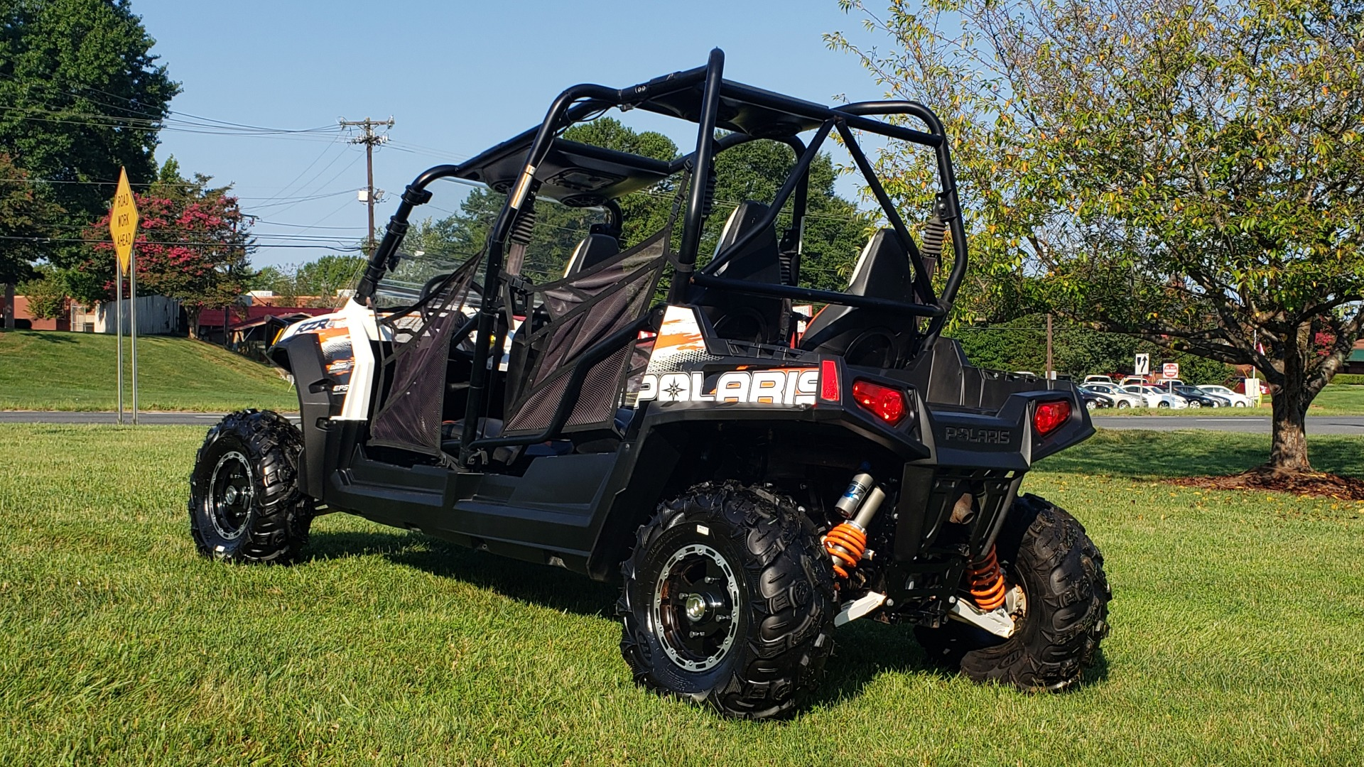 Used 2012 POLARIS RANGER RZR4 / HO 800 EFI / IPHONE CONNECT / SPEAKERS / NEW TIRES for sale Sold at Formula Imports in Charlotte NC 28227 6