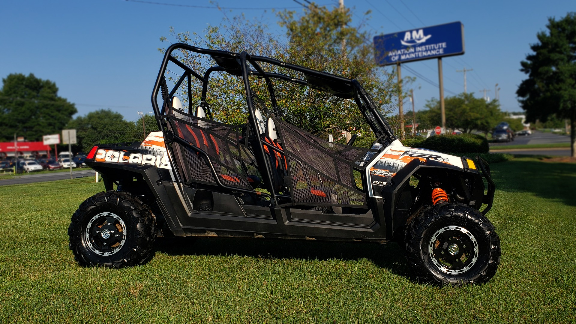 Used 2012 POLARIS RANGER RZR4 / HO 800 EFI / IPHONE CONNECT / SPEAKERS / NEW TIRES for sale Sold at Formula Imports in Charlotte NC 28227 7