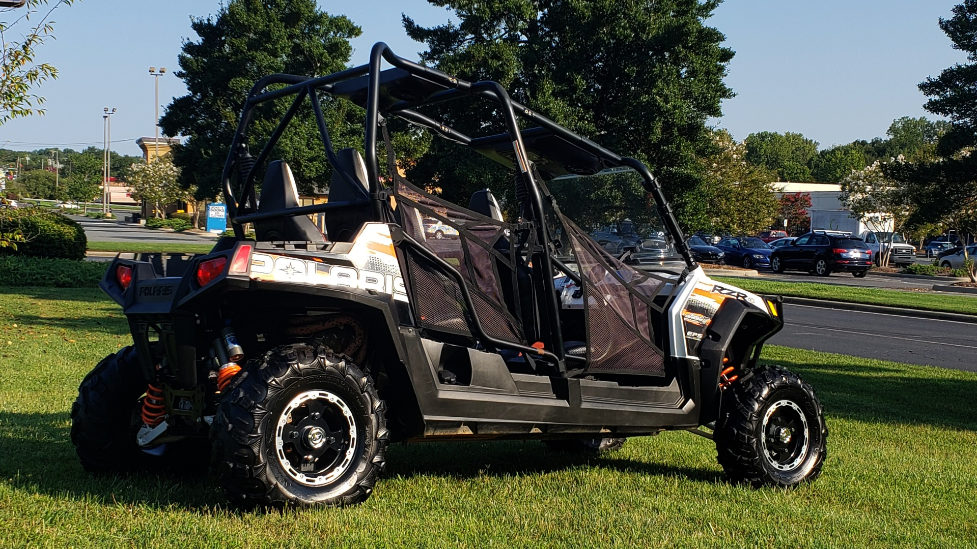Used 2012 POLARIS RANGER RZR4 / HO 800 EFI / IPHONE CONNECT / SPEAKERS / NEW TIRES for sale Sold at Formula Imports in Charlotte NC 28227 9