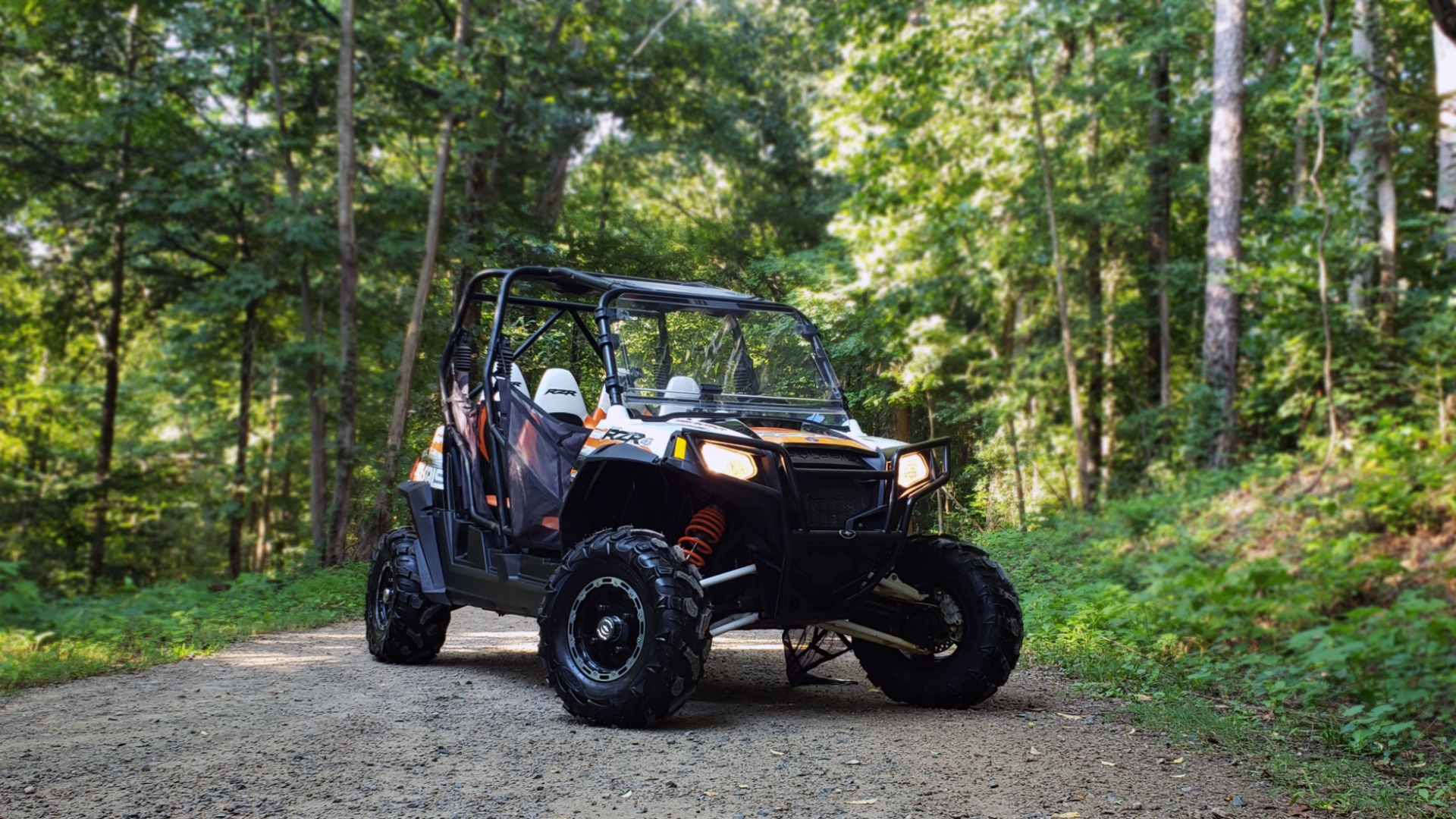 Used 2012 POLARIS RANGER RZR4 / HO 800 EFI / IPHONE CONNECT / SPEAKERS / NEW TIRES for sale Sold at Formula Imports in Charlotte NC 28227 1