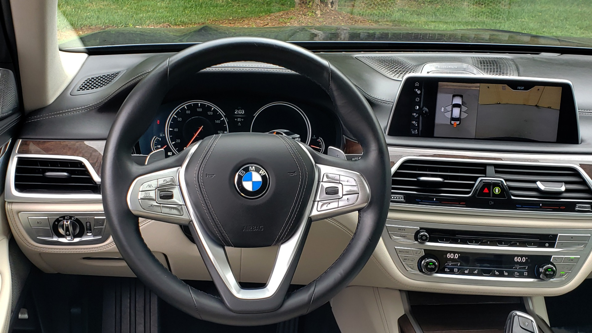 Used 2016 BMW 7 SERIES 750I EXEC PKG / DRVR ASST PLUS / CLD WTHR / SKY LOUNGE ROOF for sale Sold at Formula Imports in Charlotte NC 28227 36
