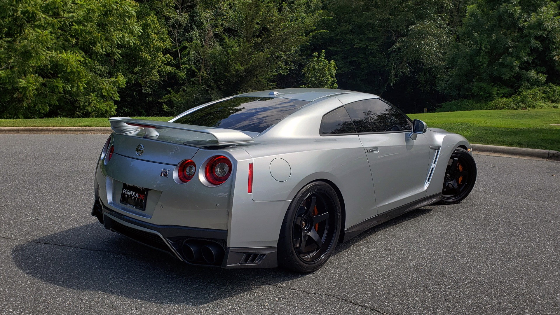 Used 2018 Nissan GT-R PREMIUM / NAV / BOSE / REARVIEW / CUSTOM WHEELS / COIL OVER SHOCKS / TUNED for sale Sold at Formula Imports in Charlotte NC 28227 11