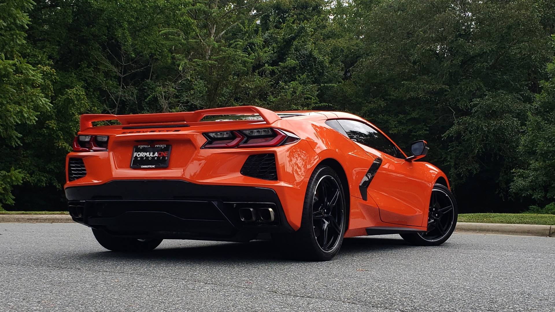Used 2020 Chevrolet CORVETTE C8 STINGRAY 2LT / 6.2L V8 / 8-SPD AUTO / NAV / BOSE / REARVIEW / DATA RECOR for sale Sold at Formula Imports in Charlotte NC 28227 10