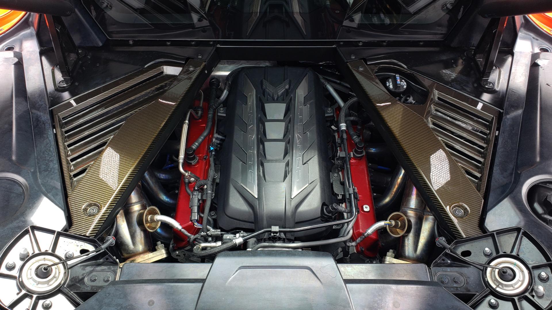 Used 2020 Chevrolet CORVETTE C8 STINGRAY 2LT / 6.2L V8 / 8-SPD AUTO / NAV / BOSE / REARVIEW / DATA RECOR for sale Sold at Formula Imports in Charlotte NC 28227 21
