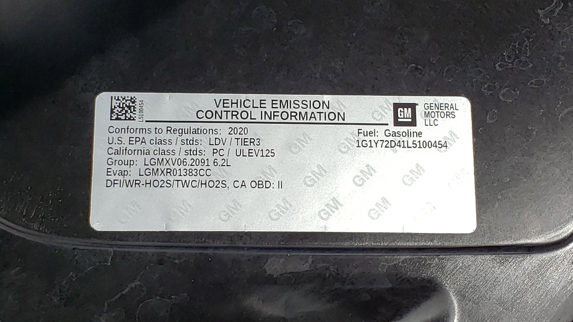Used 2020 Chevrolet CORVETTE C8 STINGRAY 2LT / 6.2L V8 / 8-SPD AUTO / NAV / BOSE / REARVIEW / DATA RECOR for sale Sold at Formula Imports in Charlotte NC 28227 22