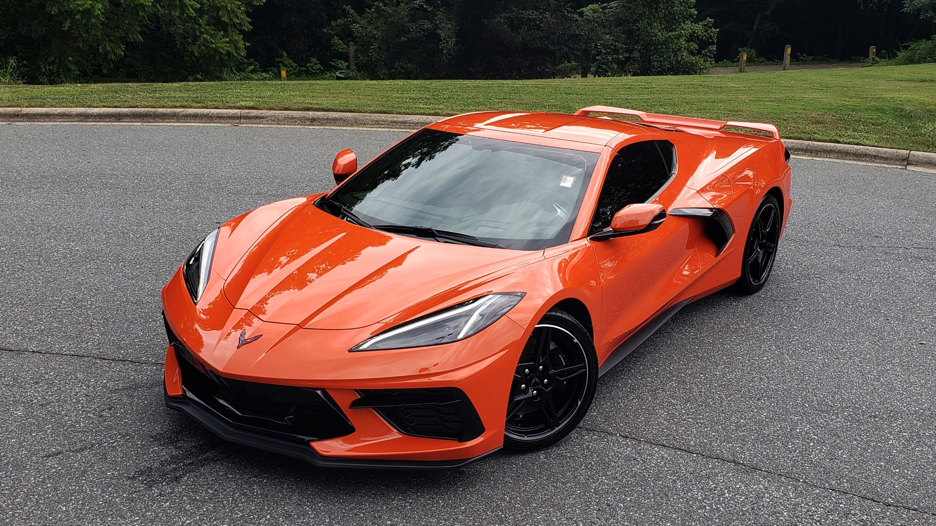 Used 2020 Chevrolet CORVETTE C8 STINGRAY 2LT / 6.2L V8 / 8-SPD AUTO / NAV / BOSE / REARVIEW / DATA RECOR for sale Sold at Formula Imports in Charlotte NC 28227 3