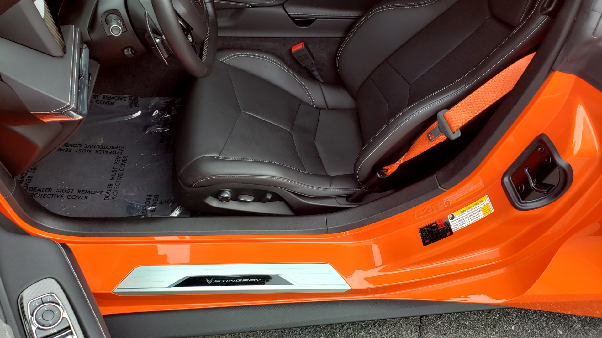 Used 2020 Chevrolet CORVETTE C8 STINGRAY 2LT / 6.2L V8 / 8-SPD AUTO / NAV / BOSE / REARVIEW / DATA RECOR for sale Sold at Formula Imports in Charlotte NC 28227 38
