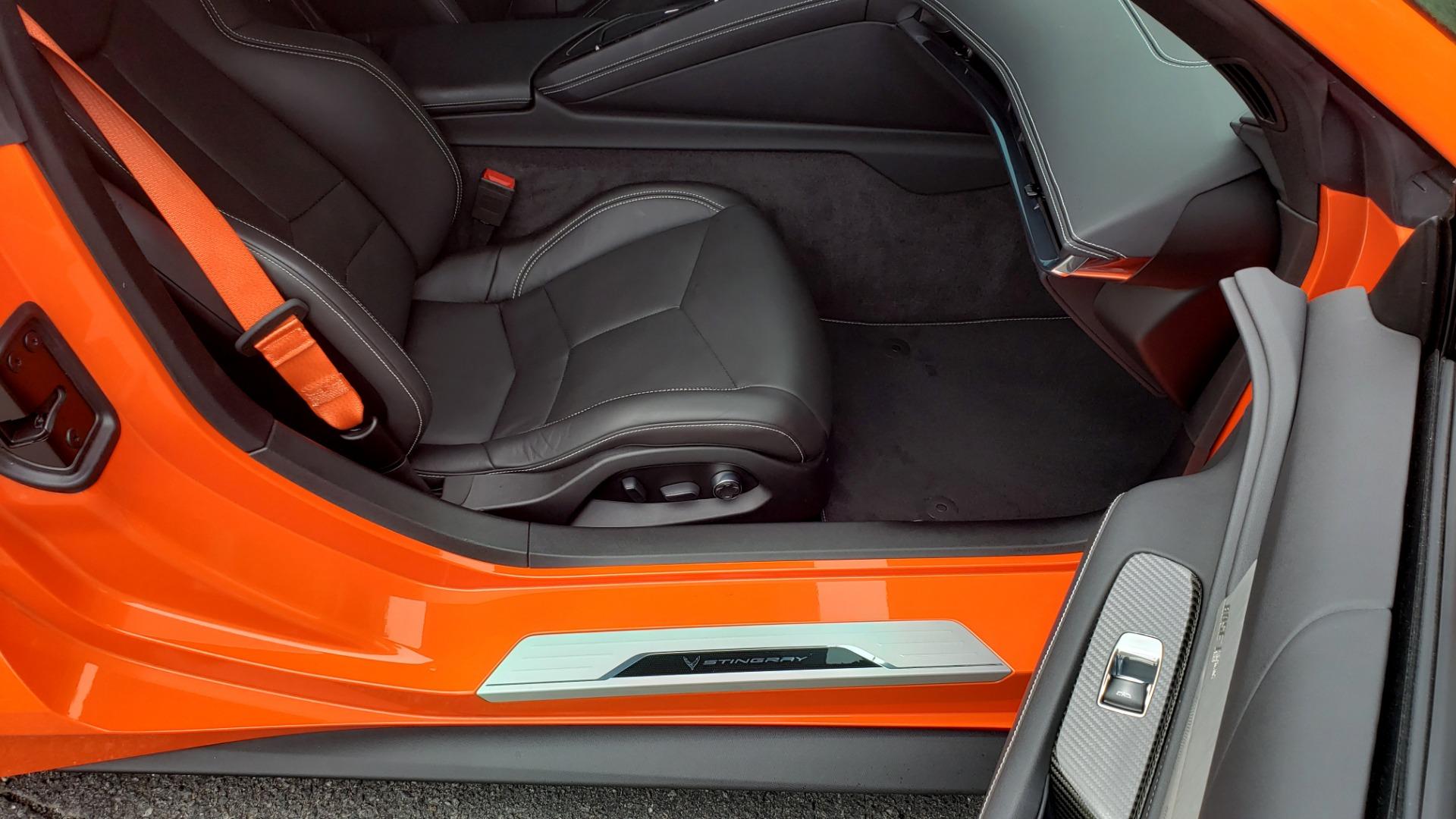 Used 2020 Chevrolet CORVETTE C8 STINGRAY 2LT / 6.2L V8 / 8-SPD AUTO / NAV / BOSE / REARVIEW / DATA RECOR for sale Sold at Formula Imports in Charlotte NC 28227 64