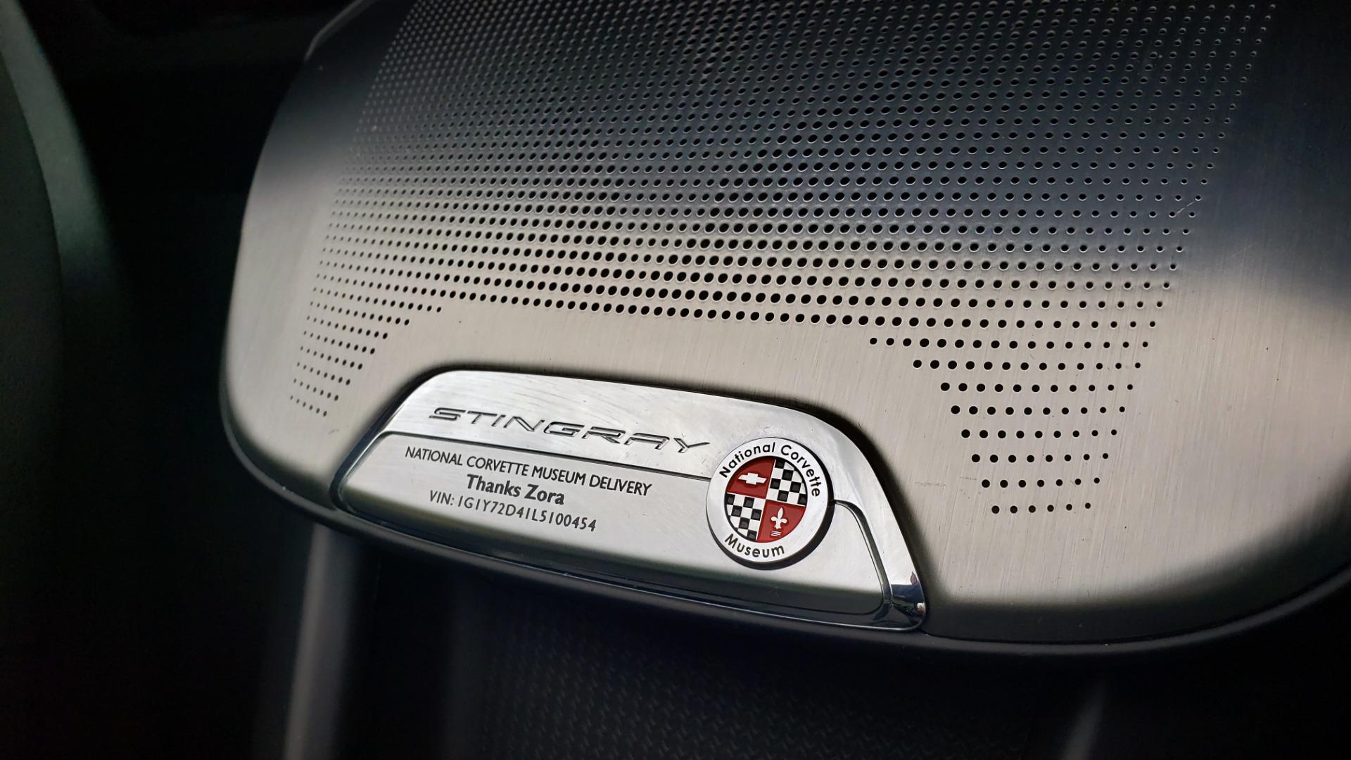 Used 2020 Chevrolet CORVETTE C8 STINGRAY 2LT / 6.2L V8 / 8-SPD AUTO / NAV / BOSE / REARVIEW / DATA RECOR for sale Sold at Formula Imports in Charlotte NC 28227 77