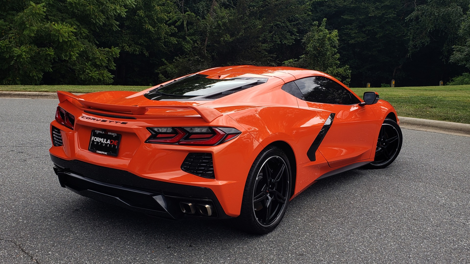 Used 2020 Chevrolet CORVETTE C8 STINGRAY 2LT / 6.2L V8 / 8-SPD AUTO / NAV / BOSE / REARVIEW / DATA RECOR for sale Sold at Formula Imports in Charlotte NC 28227 9