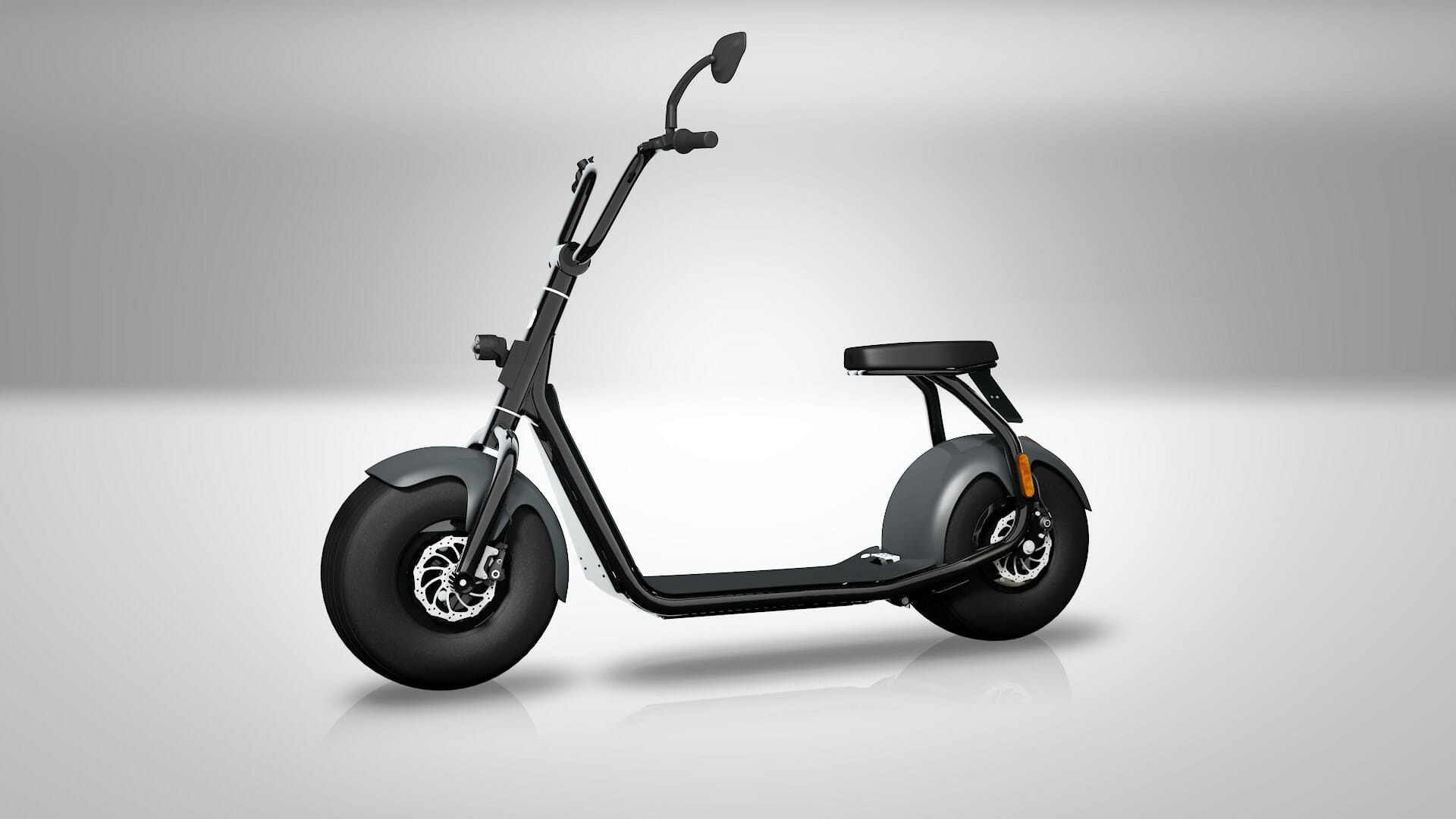Used 2018 SCROOSER ELECTRIC SCOOTER SELF BALANCED / PRIME BLUE / 15.5 MPH / 34 MI RANGE for sale Sold at Formula Imports in Charlotte NC 28227 2