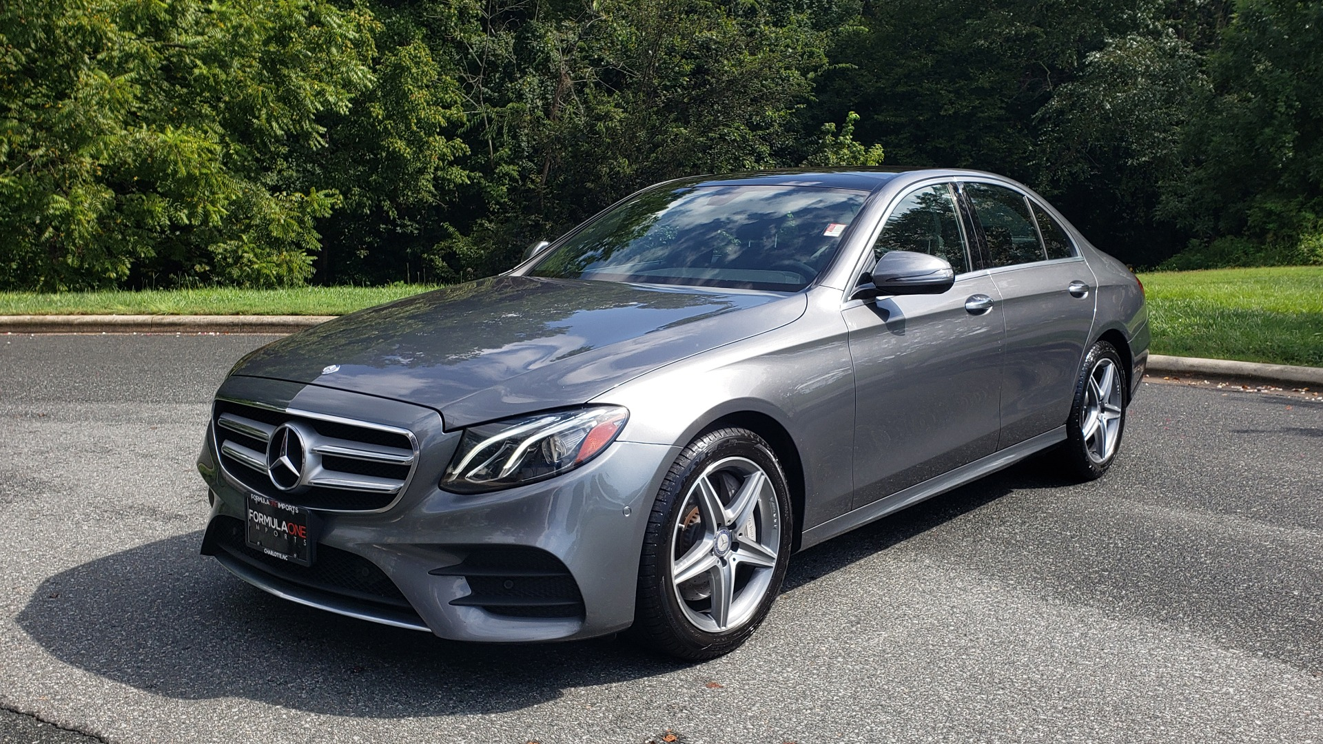 Used 2017 Mercedes-Benz E-CLASS E 300 SPORT / NAV / SUNROOF / HTD STS / BURMESTER / REARVIEW for sale Sold at Formula Imports in Charlotte NC 28227 1