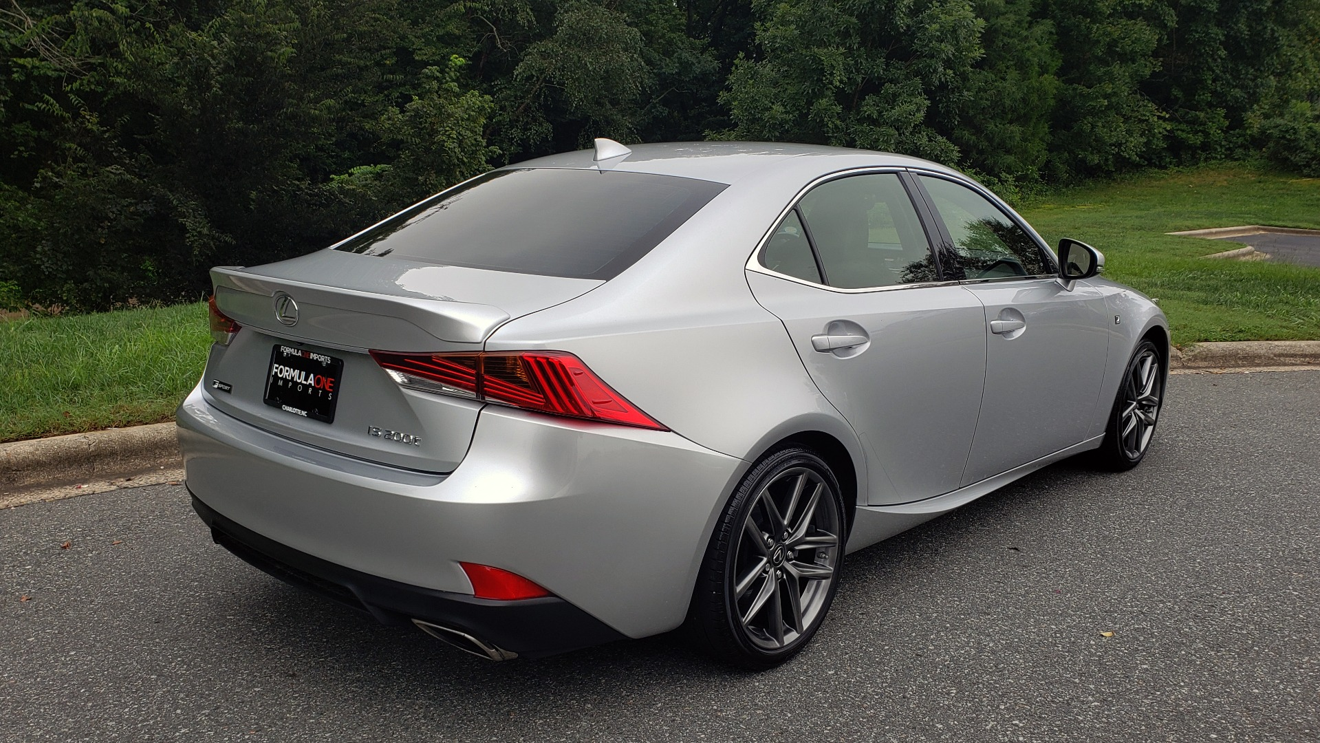 Used 2017 Lexus IS 200T F-SPORT / LEATHER / SUNROOF / 18IN WHEELS / REARVIEW for sale Sold at Formula Imports in Charlotte NC 28227 7