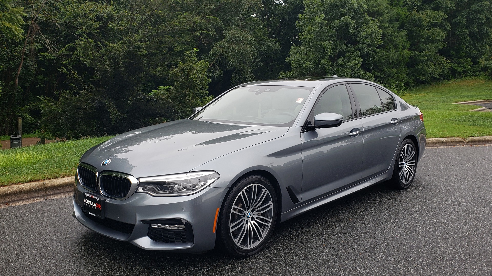 Used 2017 BMW 5 SERIES 530I M-SPORT / PREM PKG / DRVR ASST PLUS / LIGHTING / PREM SND for sale Sold at Formula Imports in Charlotte NC 28227 1