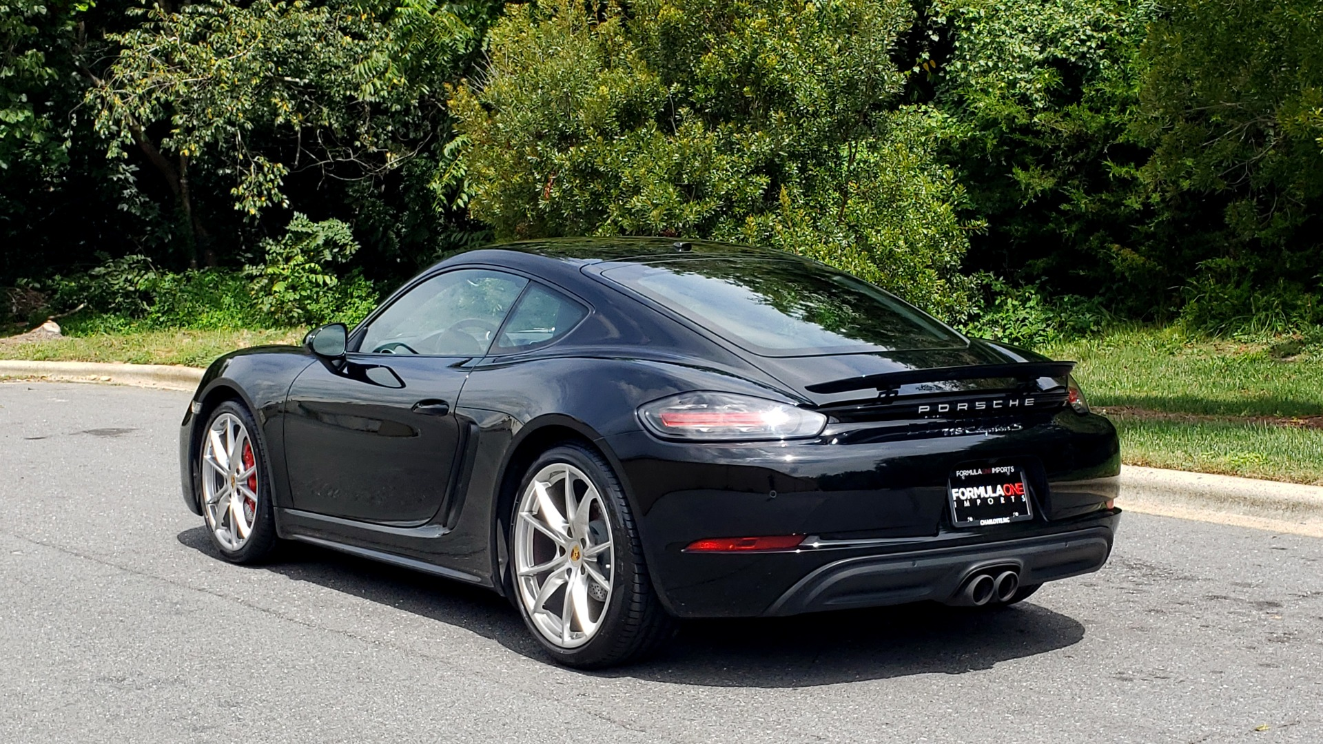 Used 2018 Porsche 718 CAYMAN S / PREM PKG PLUS / PDK / NAV / BOSE / CHRONO / SPORT EXHAUST for sale Sold at Formula Imports in Charlotte NC 28227 3