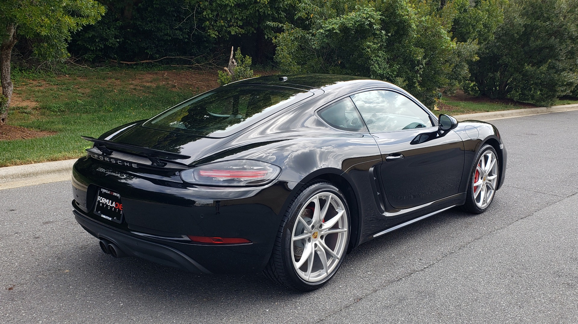 Used 2018 Porsche 718 CAYMAN S / PREM PKG PLUS / PDK / NAV / BOSE / CHRONO / SPORT EXHAUST for sale Sold at Formula Imports in Charlotte NC 28227 6