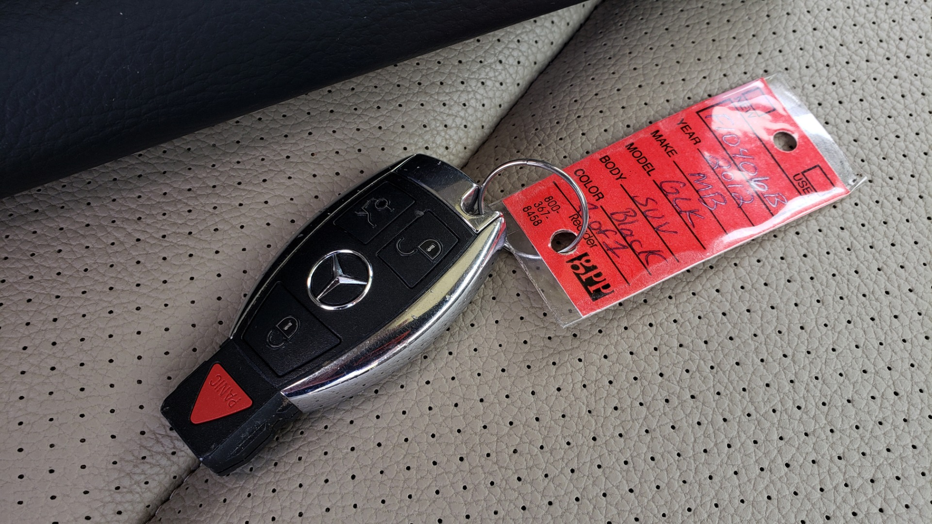Used 2012 Mercedes-Benz GLK-CLASS GLK 350 4MATIC / PREM PKG / SUNROOF / KEYLESS-GO / NAV / REARVIEW for sale Sold at Formula Imports in Charlotte NC 28227 93