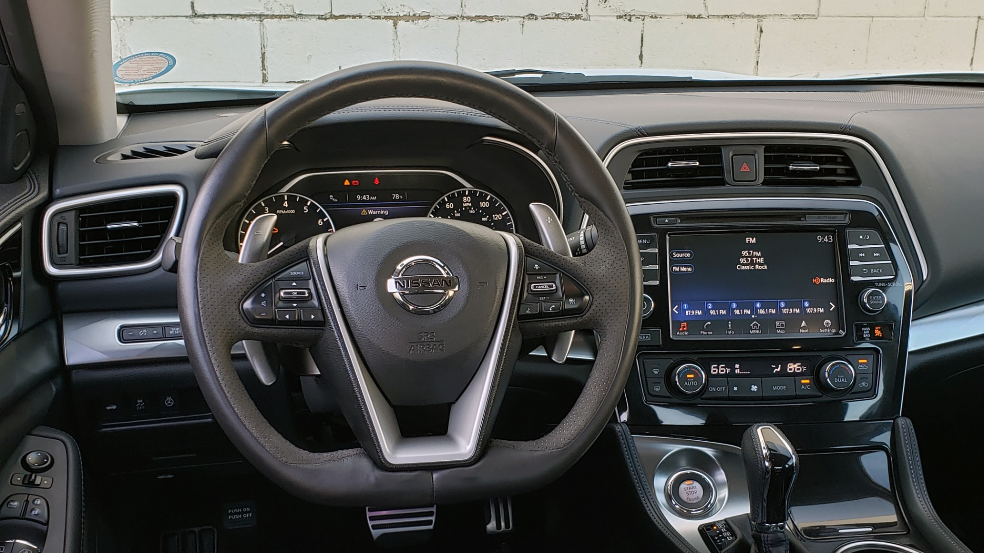 Used 2016 Nissan MAXIMA 3.5 SR / NAV / BOSE / VENT STS / CVT / REARVIEW for sale Sold at Formula Imports in Charlotte NC 28227 38
