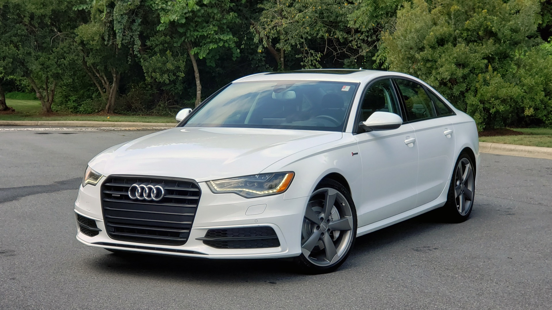 Used 2015 Audi A6 3.0T PRESTIGE / BLACK OPTIC / NAV / BOSE / SUNROOF / REARVIEW for sale Sold at Formula Imports in Charlotte NC 28227 1
