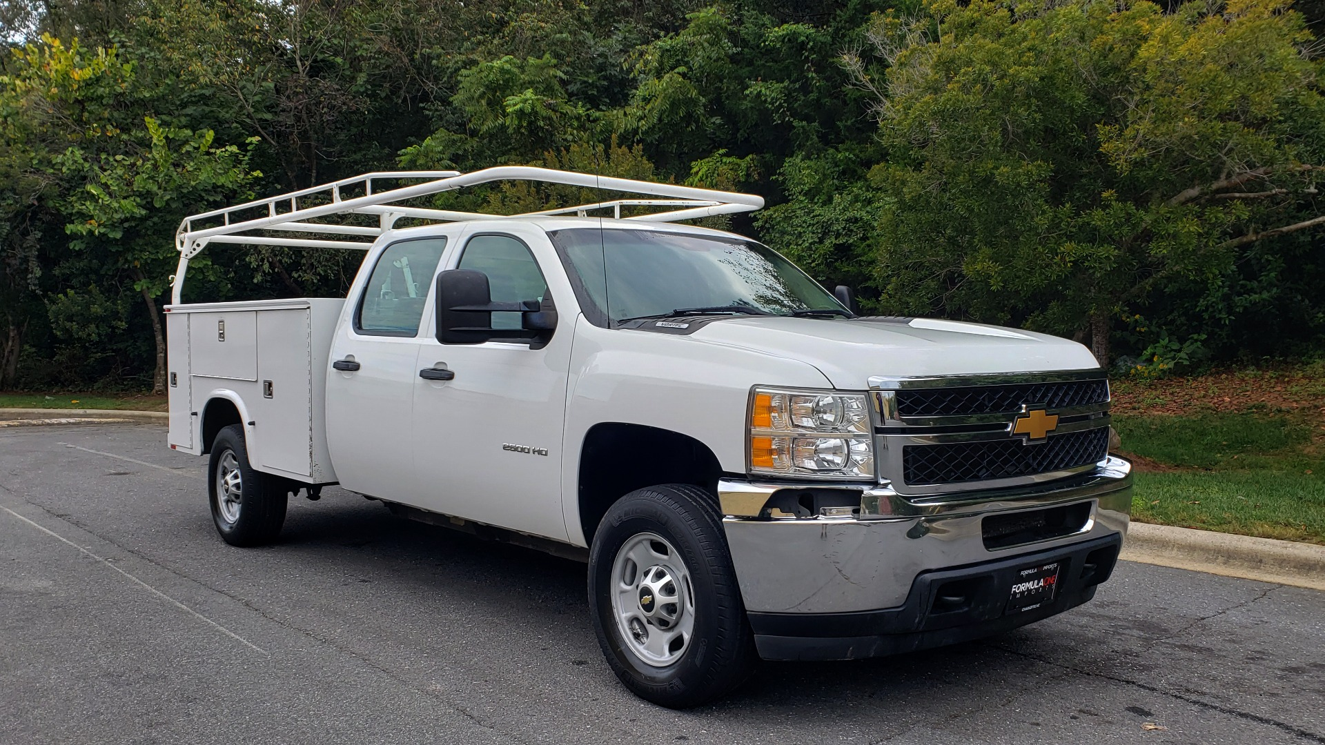 Used 2013 Chevrolet SILVERADO 2500HD WORK TRUCK 4WD / 6.0L V8 / AUTO / TOOL BOX / CLEAN for sale Sold at Formula Imports in Charlotte NC 28227 11