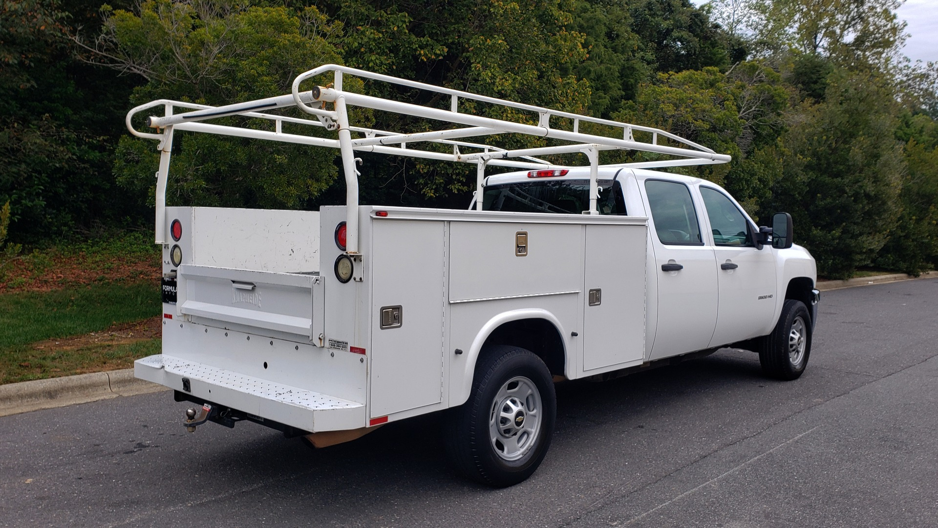 Used 2013 Chevrolet SILVERADO 2500HD WORK TRUCK 4WD / 6.0L V8 / AUTO / TOOL BOX / CLEAN for sale Sold at Formula Imports in Charlotte NC 28227 9