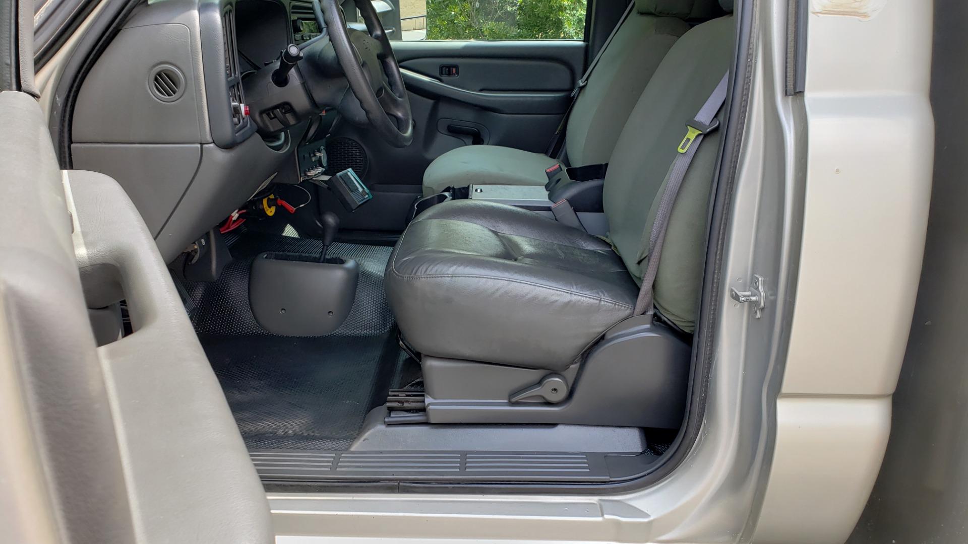 Used 2005 Chevrolet SILVERADO 3500 DRW / 4WD / REG CAB / 6.6L DURAMAX / DOOMSDAY PREPPER for sale $21,595 at Formula Imports in Charlotte NC 28227 34