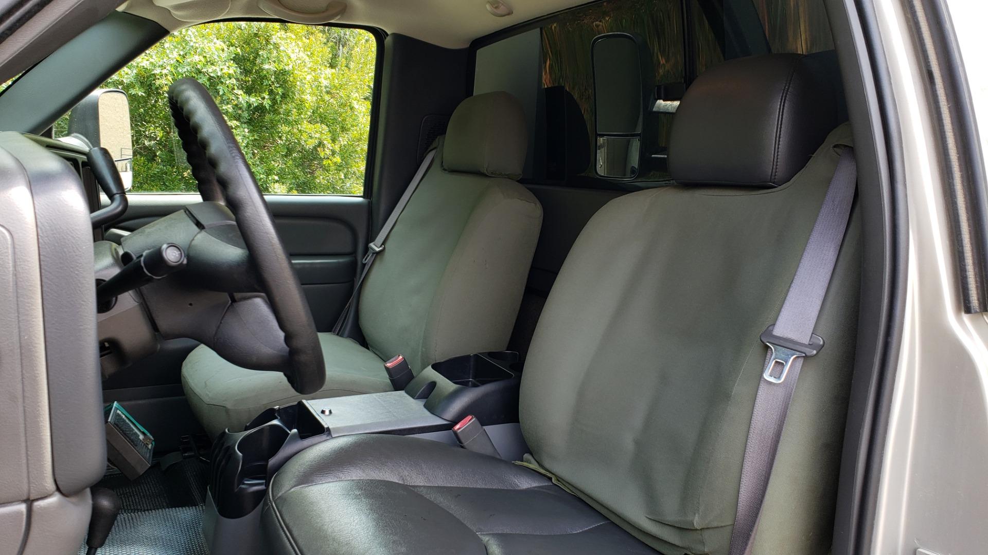 Used 2005 Chevrolet SILVERADO 3500 DRW / 4WD / REG CAB / 6.6L DURAMAX / DOOMSDAY PREPPER for sale $21,595 at Formula Imports in Charlotte NC 28227 35