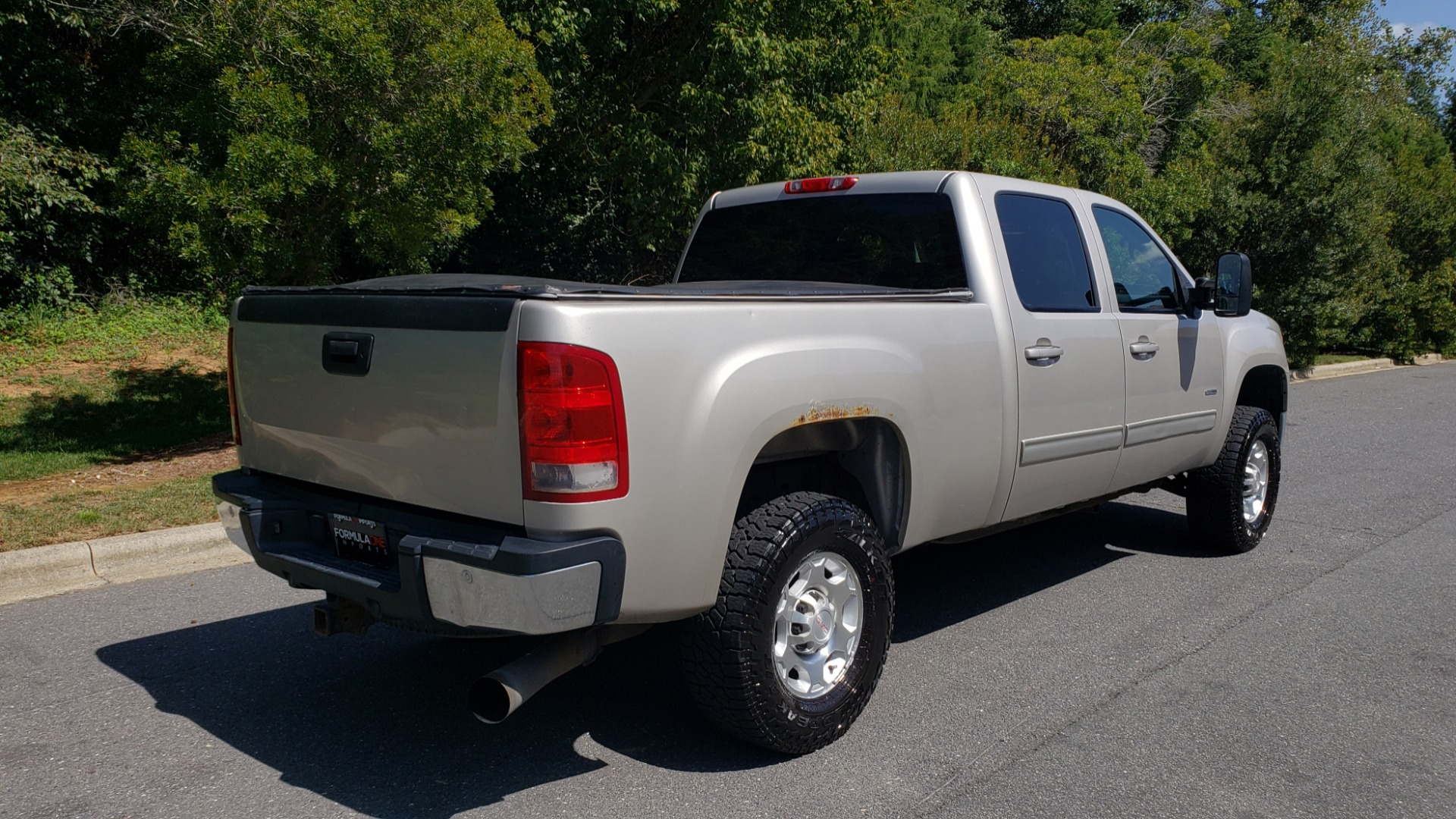 Used 2008 GMC SIERRA 2500HD SLT 4WD CREWCAB / 6.6L DURAMAX / 6-SPD ALLISON for sale Sold at Formula Imports in Charlotte NC 28227 2