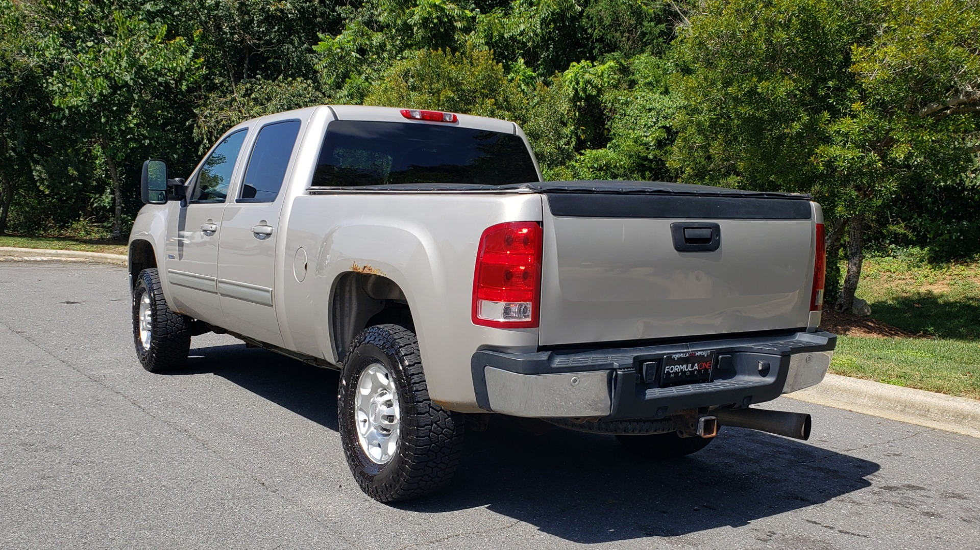 Used 2008 GMC SIERRA 2500HD SLT 4WD CREWCAB / 6.6L DURAMAX / 6-SPD ALLISON for sale Sold at Formula Imports in Charlotte NC 28227 5