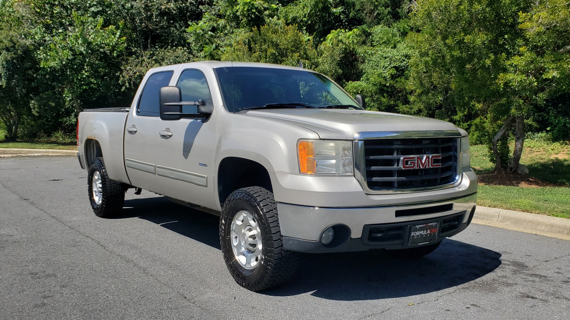 Used 2008 GMC SIERRA 2500HD SLT 4WD CREWCAB / 6.6L DURAMAX / 6-SPD ALLISON for sale Sold at Formula Imports in Charlotte NC 28227 6