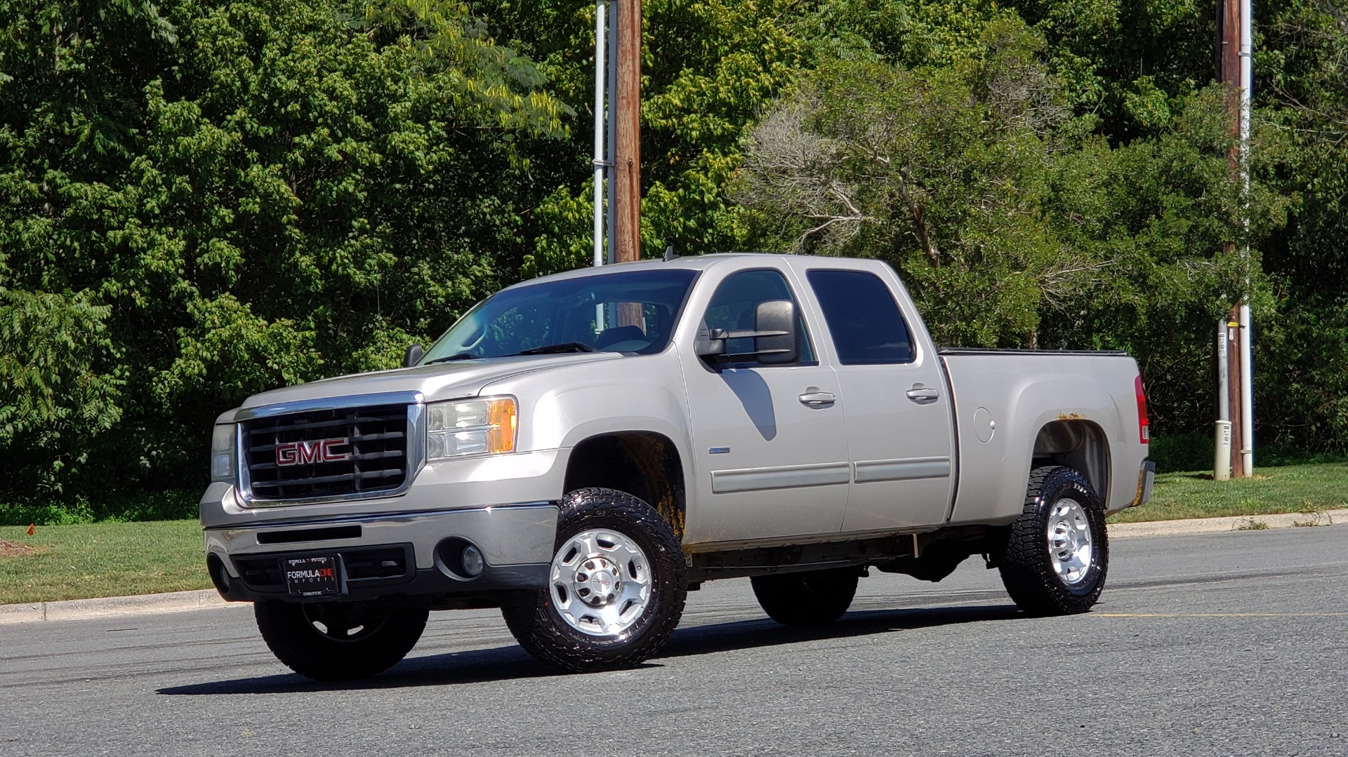 Used 2008 GMC SIERRA 2500HD SLT 4WD CREWCAB / 6.6L DURAMAX / 6-SPD ALLISON for sale Sold at Formula Imports in Charlotte NC 28227 1