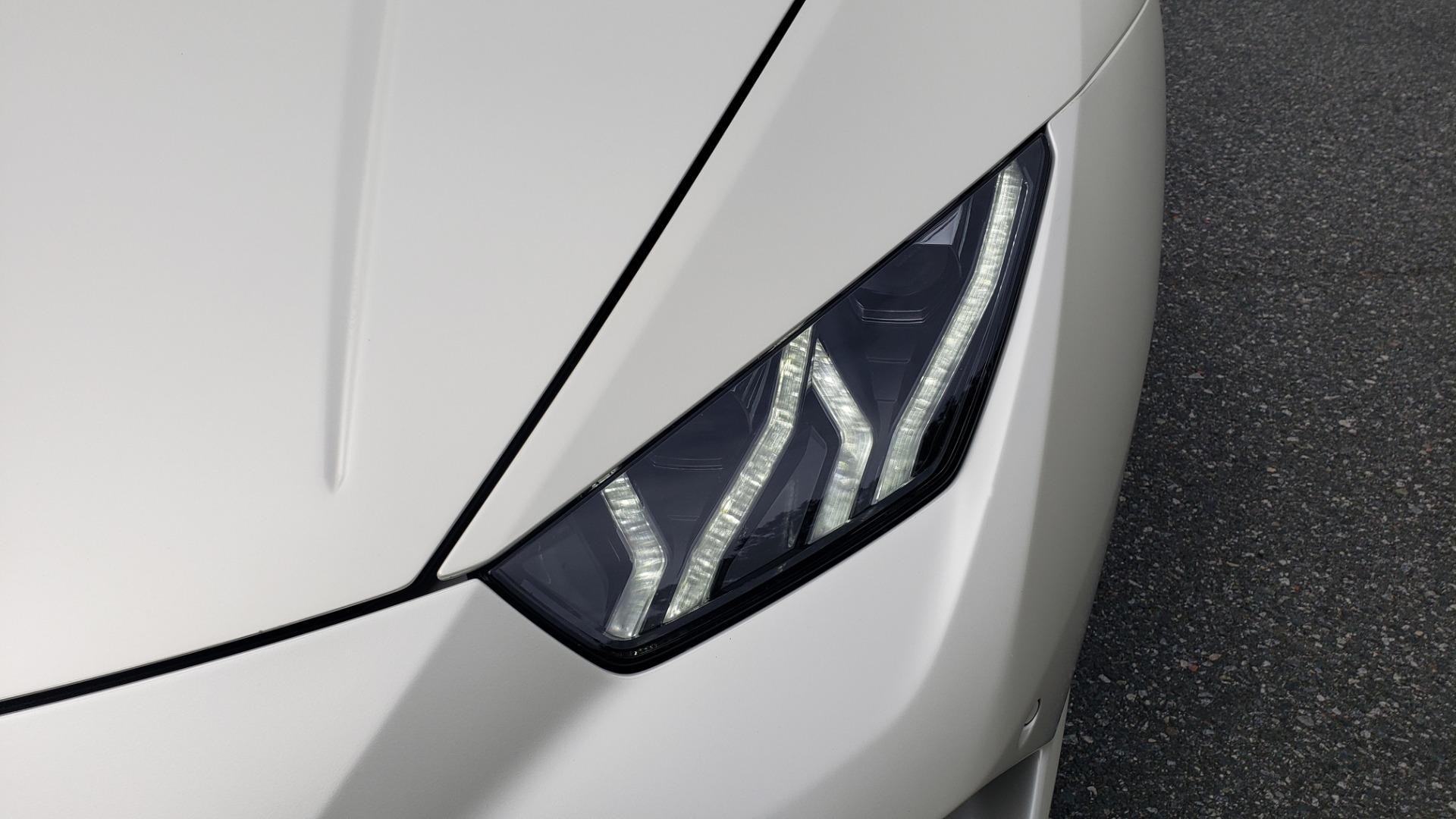 Used 2018 Lamborghini HURACAN PERFORMANTE 5.2L V10 / 630HP / 7-SPD AUTO / AWD / NAV / PREM SND for sale $269,995 at Formula Imports in Charlotte NC 28227 19