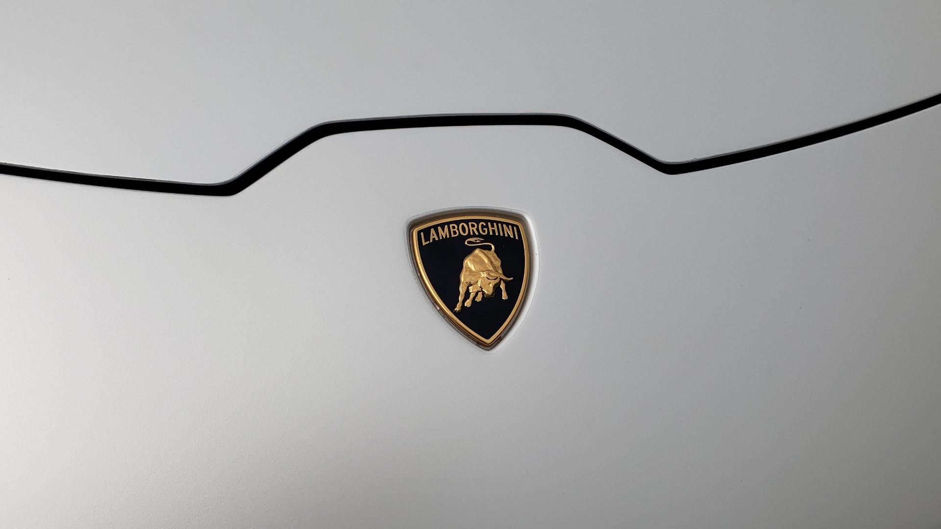 Used 2018 Lamborghini HURACAN PERFORMANTE 5.2L V10 / 630HP / 7-SPD AUTO / AWD / NAV / PREM SND for sale $269,995 at Formula Imports in Charlotte NC 28227 20