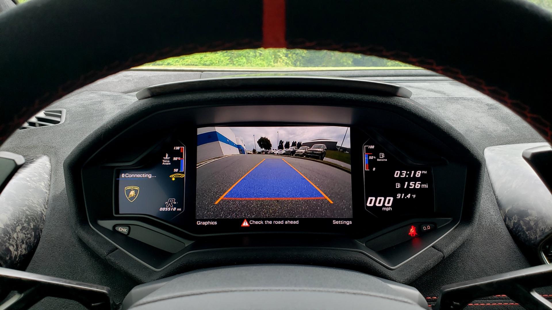 Used 2018 Lamborghini HURACAN PERFORMANTE 5.2L V10 / 630HP / 7-SPD AUTO / AWD / NAV / PREM SND for sale $269,995 at Formula Imports in Charlotte NC 28227 33