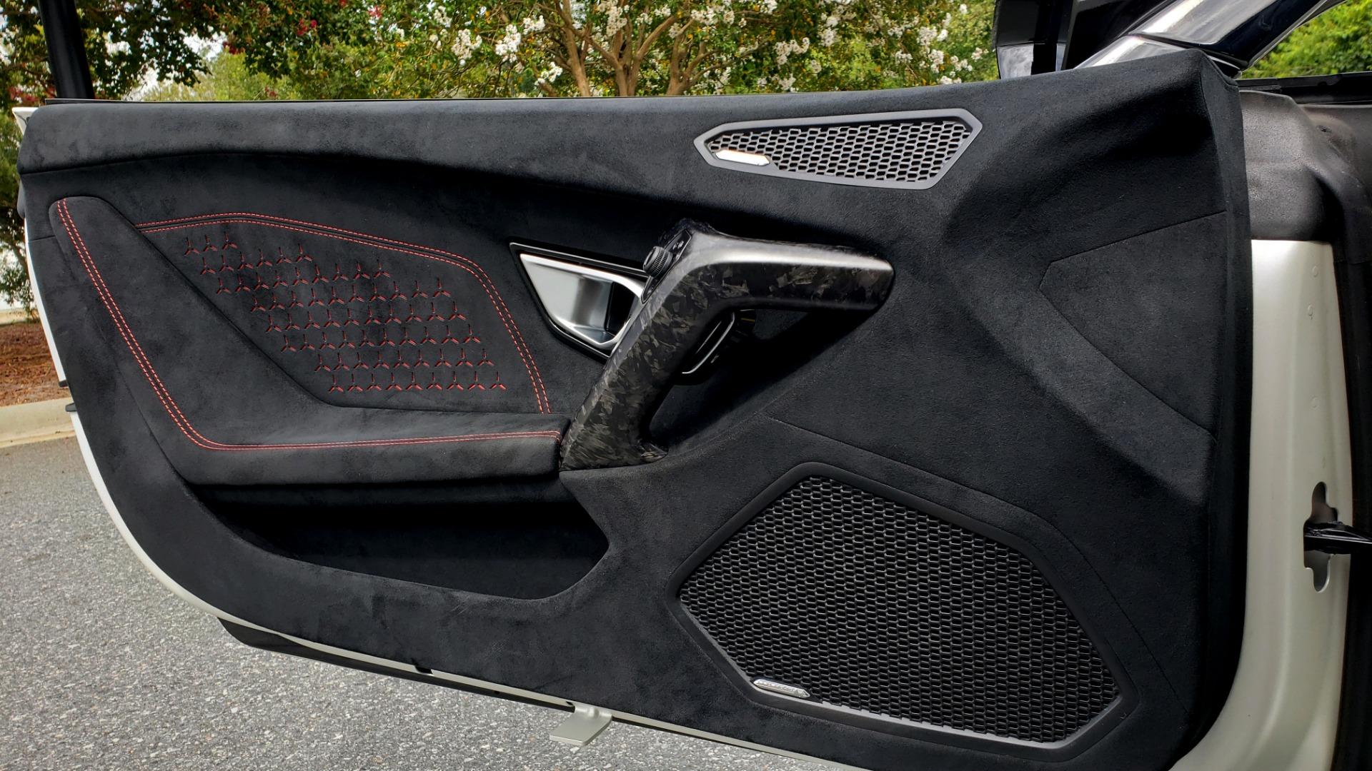 Used 2018 Lamborghini HURACAN PERFORMANTE 5.2L V10 / 630HP / 7-SPD AUTO / AWD / NAV / PREM SND for sale $269,995 at Formula Imports in Charlotte NC 28227 44