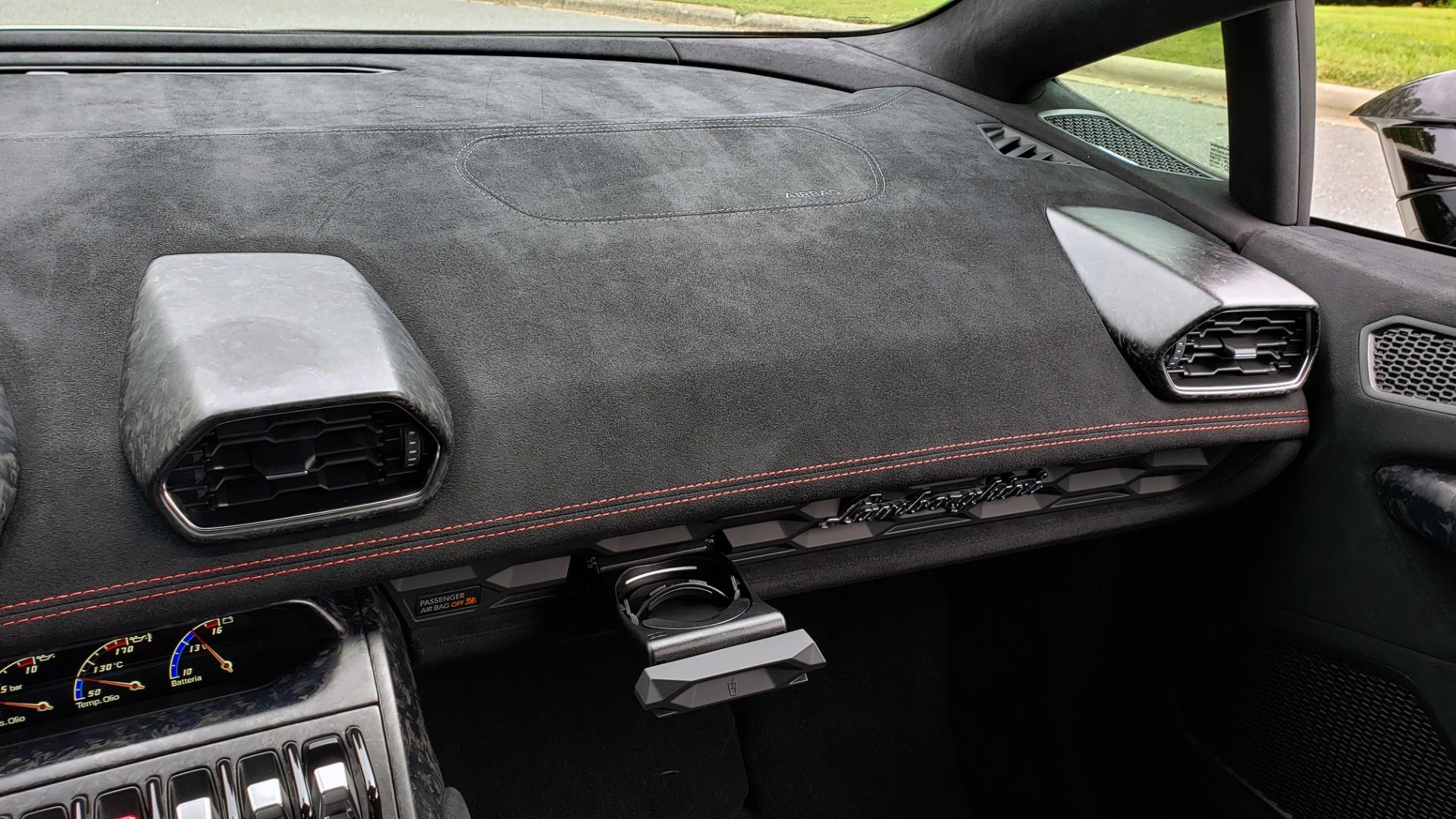 Used 2018 Lamborghini HURACAN PERFORMANTE 5.2L V10 / 630HP / 7-SPD AUTO / AWD / NAV / PREM SND for sale $269,995 at Formula Imports in Charlotte NC 28227 53