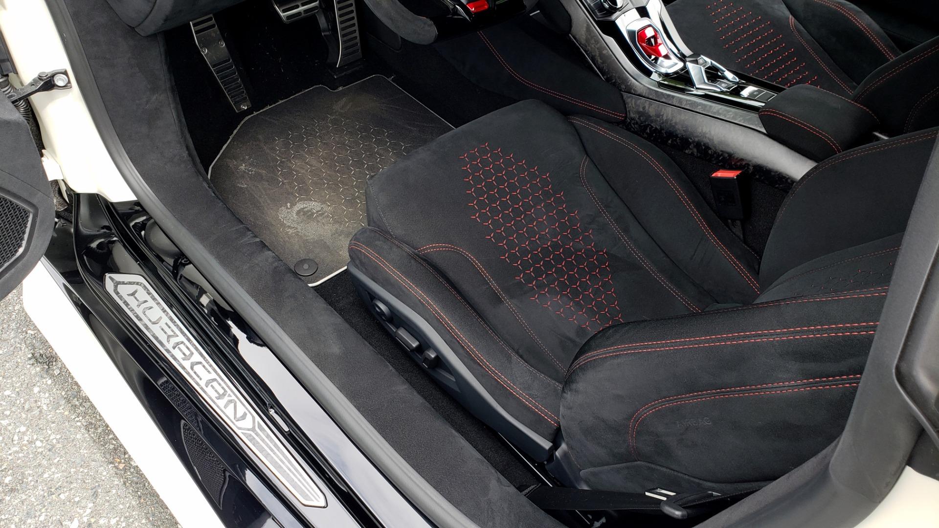 Used 2018 Lamborghini HURACAN PERFORMANTE 5.2L V10 / 630HP / 7-SPD AUTO / AWD / NAV / PREM SND for sale $269,995 at Formula Imports in Charlotte NC 28227 57