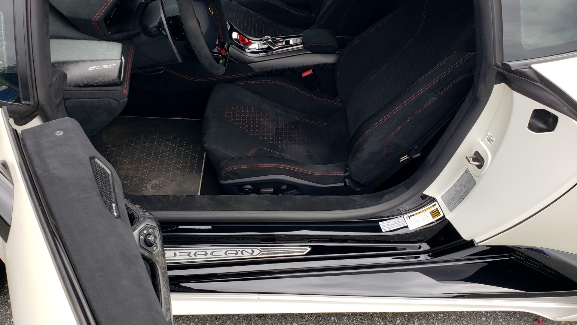 Used 2018 Lamborghini HURACAN PERFORMANTE 5.2L V10 / 630HP / 7-SPD AUTO / AWD / NAV / PREM SND for sale $269,995 at Formula Imports in Charlotte NC 28227 59