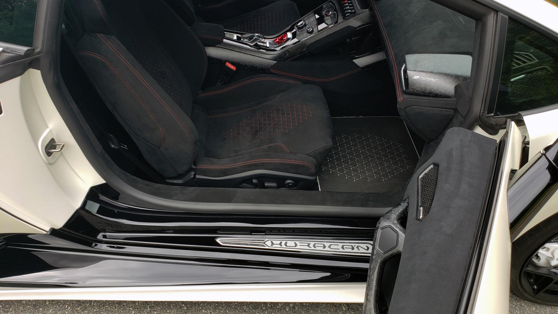 Used 2018 Lamborghini HURACAN PERFORMANTE 5.2L V10 / 630HP / 7-SPD AUTO / AWD / NAV / PREM SND for sale $269,995 at Formula Imports in Charlotte NC 28227 64