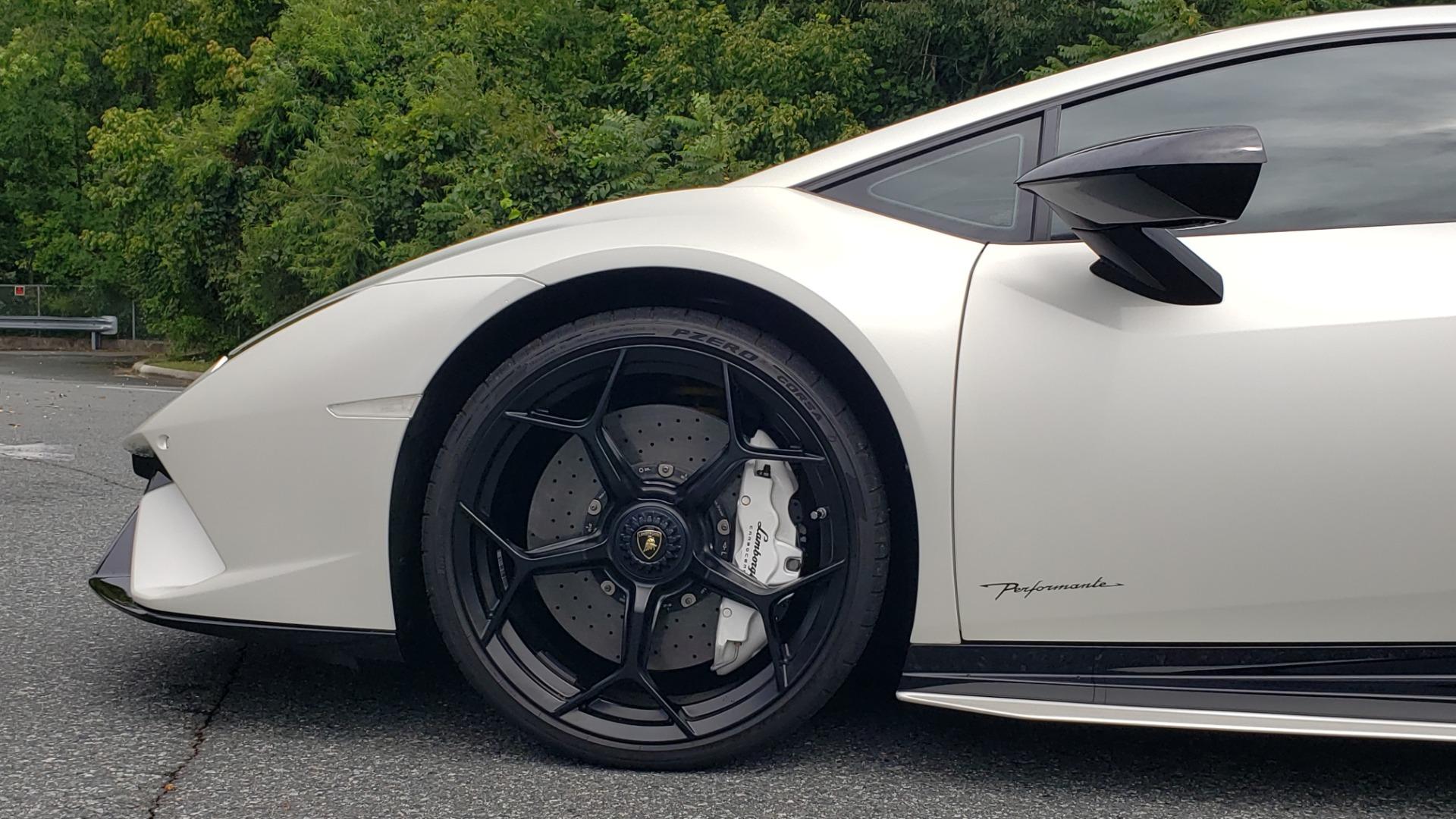 Used 2018 Lamborghini HURACAN PERFORMANTE 5.2L V10 / 630HP / 7-SPD AUTO / AWD / NAV / PREM SND for sale $269,995 at Formula Imports in Charlotte NC 28227 80