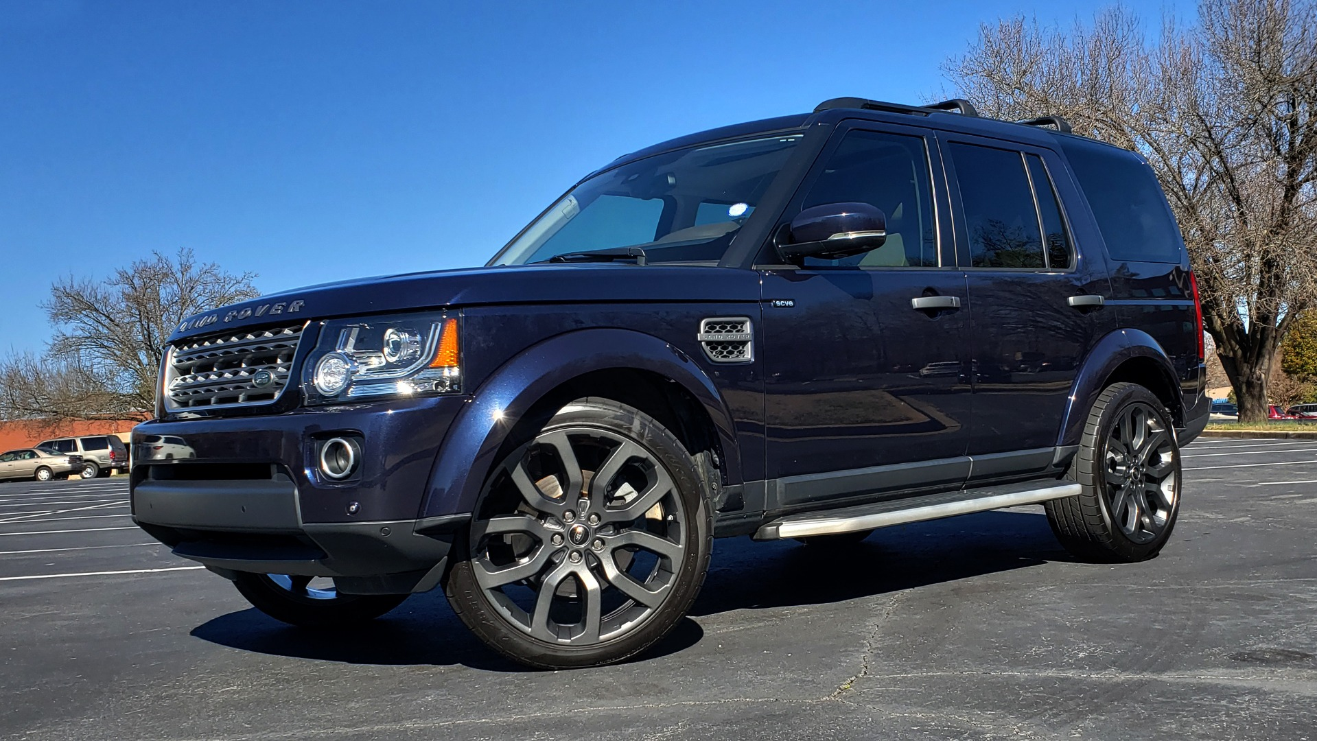 Used 2016 Land Rover LR4 HSE / NAV / VSN ASST / CLIMATE / MERIDIAN / REARVIEW for sale Sold at Formula Imports in Charlotte NC 28227 1