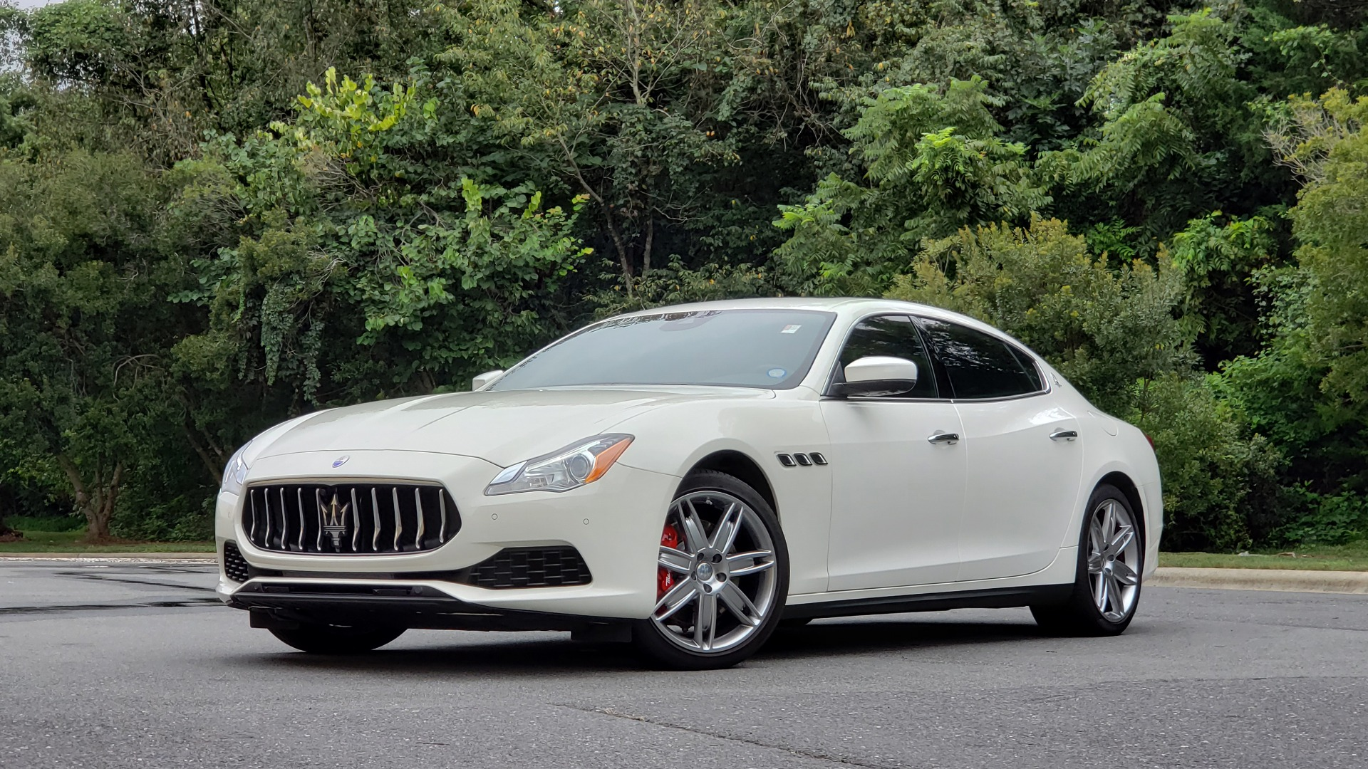 Used 2017 Maserati QUATTROPORTE S / DRIVER ASST PKG / SUNROOF / NAV / REARVIEW for sale Sold at Formula Imports in Charlotte NC 28227 2