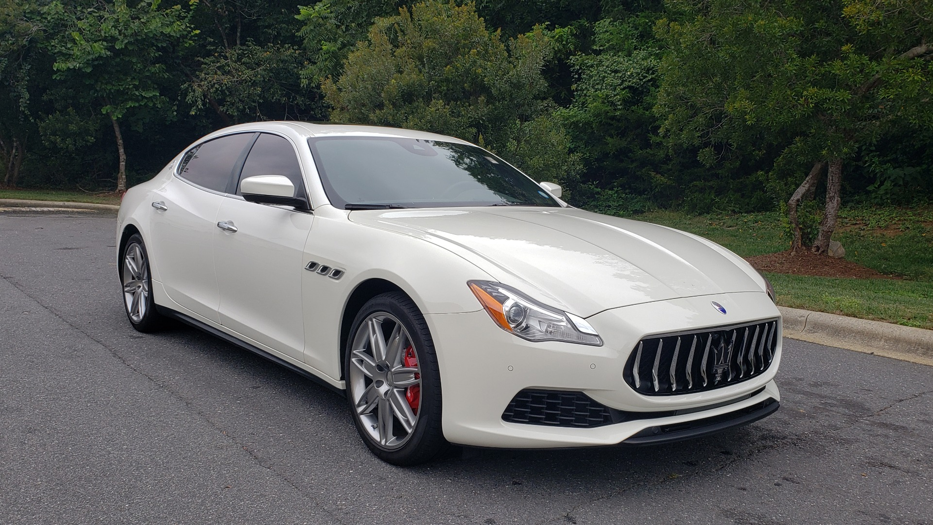 Used 2017 Maserati QUATTROPORTE S / DRIVER ASST PKG / SUNROOF / NAV / REARVIEW for sale Sold at Formula Imports in Charlotte NC 28227 6