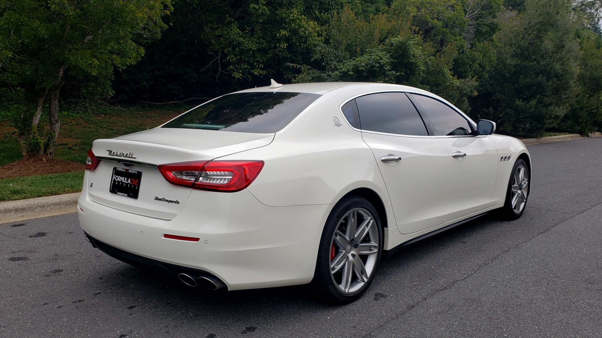 Used 2017 Maserati QUATTROPORTE S / DRIVER ASST PKG / SUNROOF / NAV / REARVIEW for sale Sold at Formula Imports in Charlotte NC 28227 8