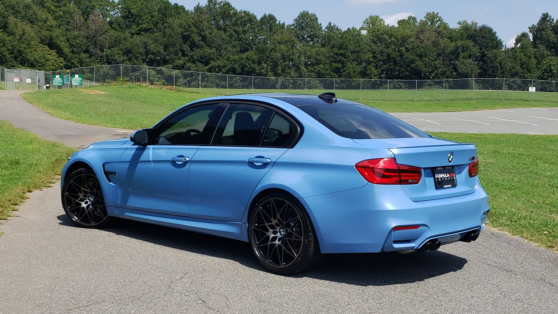 Used 2018 BMW M3 COMPETITION PKG / 6-SPD MANUAL / NAV / CARBON FIBER ROOF / REARVIEW for sale Sold at Formula Imports in Charlotte NC 28227 2