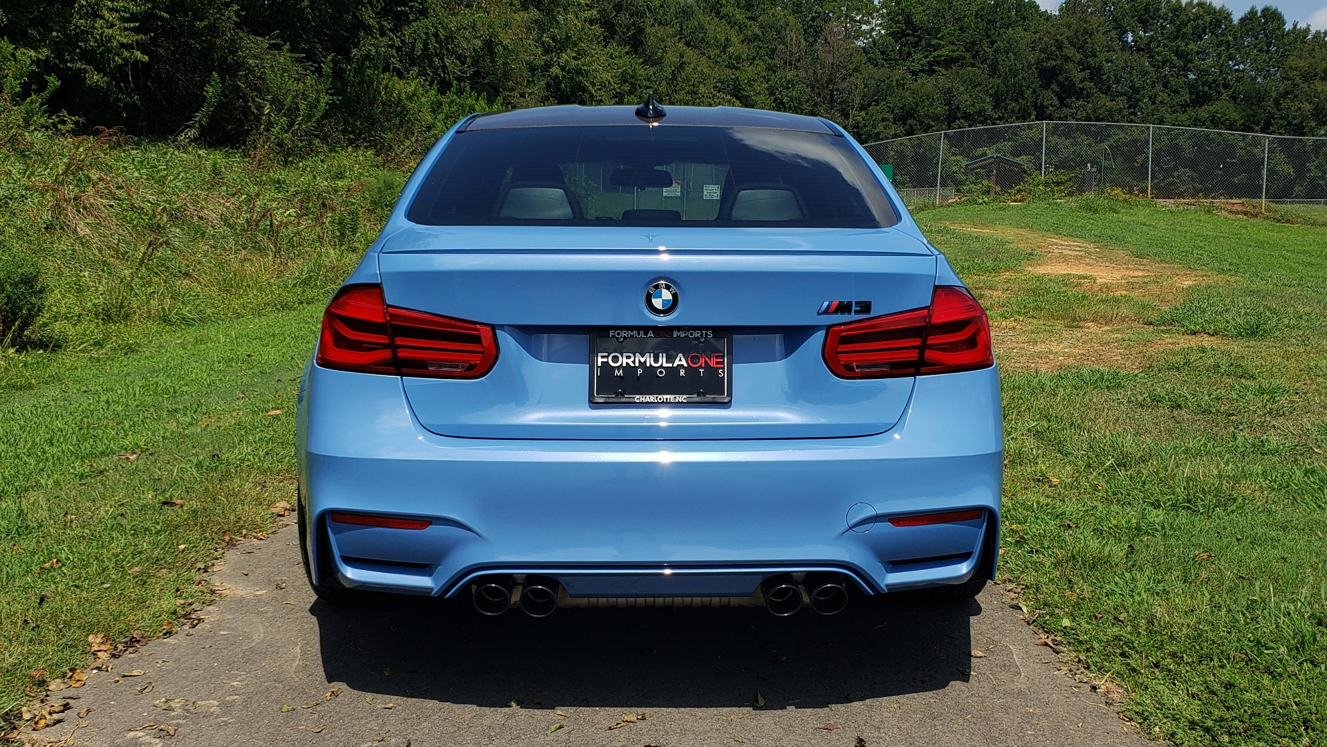 Used 2018 BMW M3 COMPETITION PKG / 6-SPD MANUAL / NAV / CARBON FIBER ROOF / REARVIEW for sale Sold at Formula Imports in Charlotte NC 28227 34